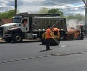 Sealcoating a Parking Lot NC Paving Pros